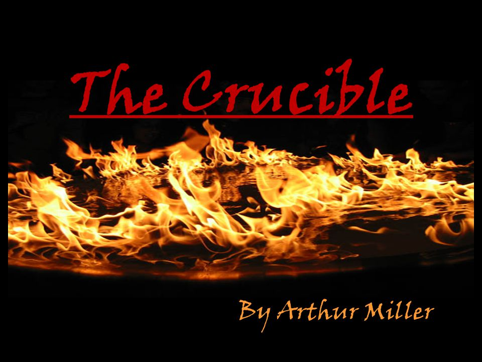 Miller on The Crucible A political policy is equated with moral right, and opposition to it with diabolical malevolence. The Crucible serves as an allegory for the activities of Senator Joseph McCarthy and the House Un-American Activities Committee.