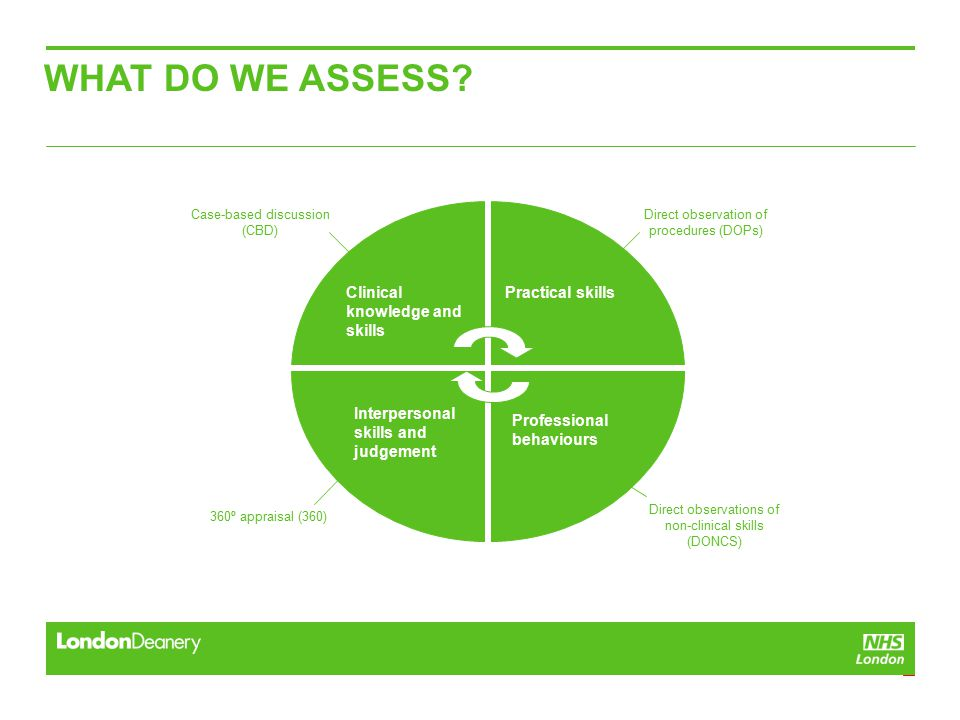 WHAT DO WE ASSESS.