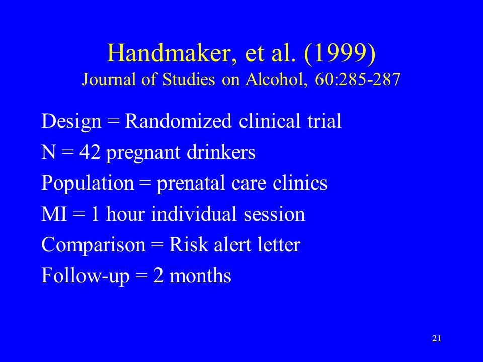 21 Handmaker, et al.