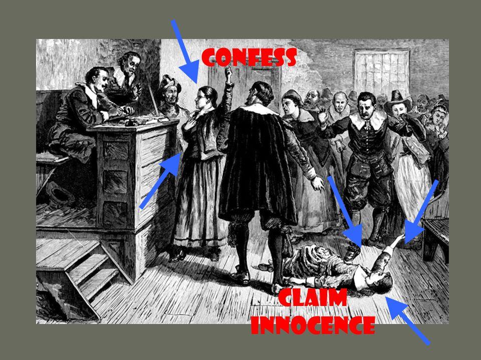 CONFESS Claim Innocence
