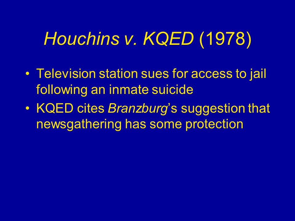 Houchins v.