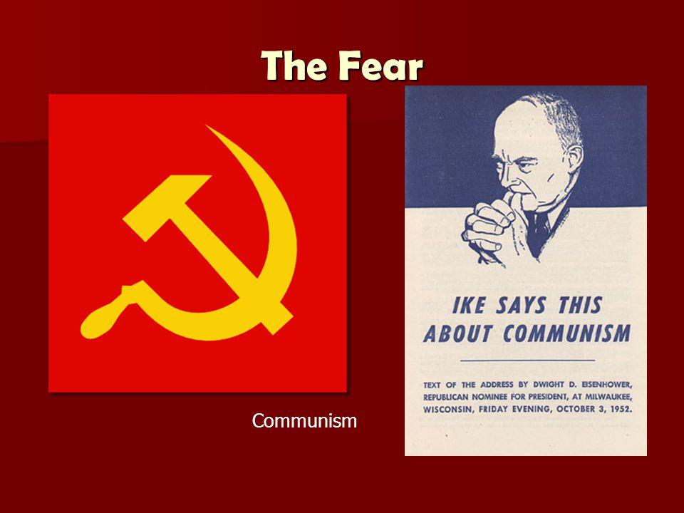 The Fear Communism