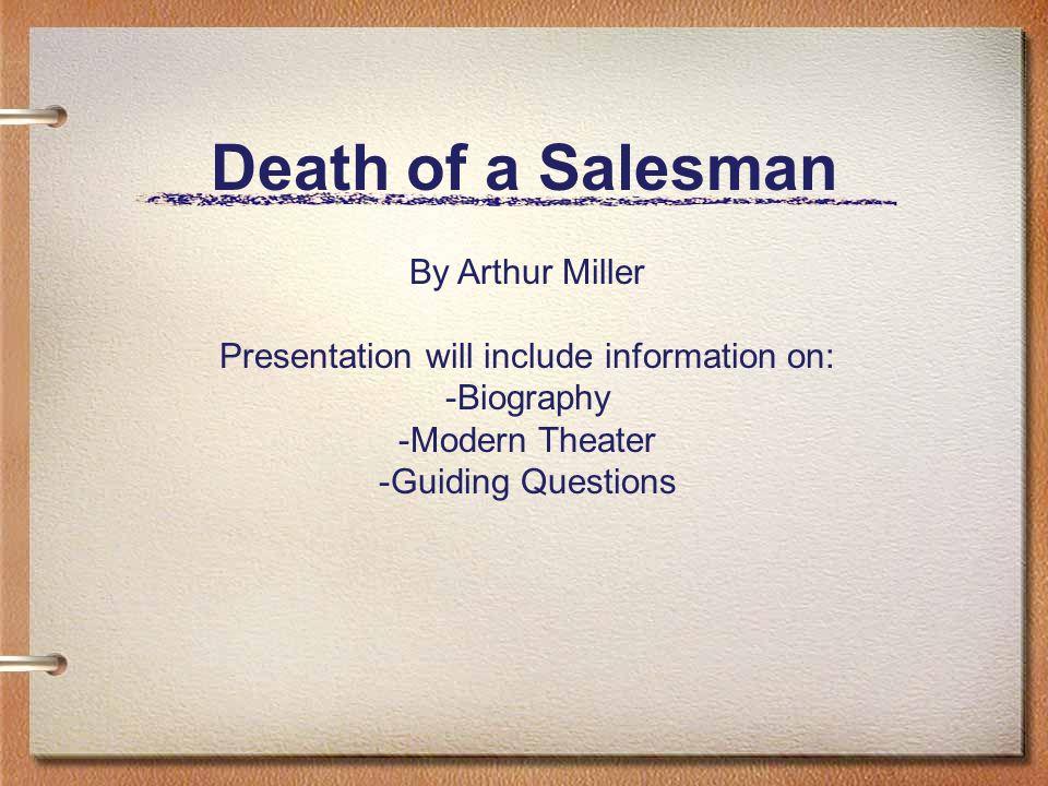 Biography: Arthur Miller Born in Manhattan (upscale Harlem) on Oct.