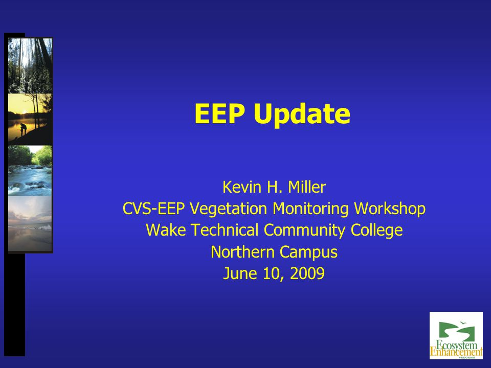 EEP Update Kevin H.