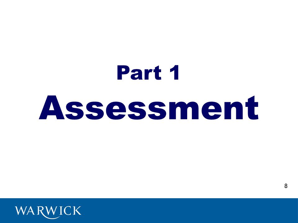 Assessment Part 1 8