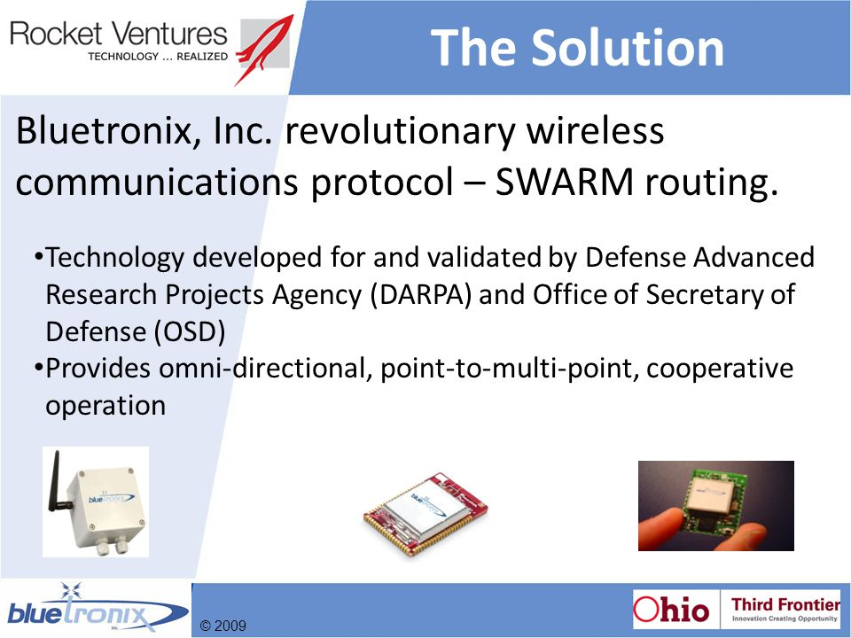 Bluetronix Advantage Devices Communicate Directly.