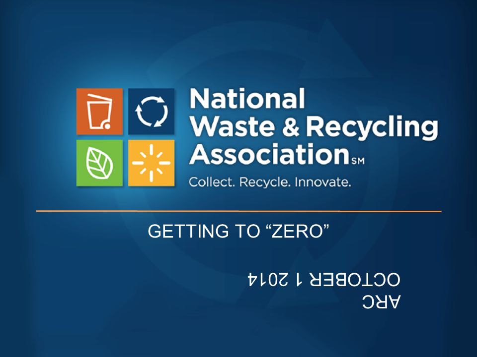 ZW: SUBSTANCE: 2013 Increase diversion to 65% by 2013 Defect rate down by 80% No waste to landfill Donated food waste…decreased overall generation by 40% Auto production plant landfill free Zero waste to landfill at 116 facilities, 45 in North America Reduce packaging use by 100,000 tons annually by 2017 Waste-free packaging by 2020 Reduced waste by one million household bins Zero waste to landfills at 45 factories Five year plan to reduce waste by 40% per vehicle Zero waste to landfill 95% reduction in waste to landfills all North American plants, averaged over 3 years Two tire manufacturing plants zero waste to landfill Spent brewery grains to animal feed instead of landfill 80 percent waste reduction, increase use of recycled plastic Publish bills electronically, not on paper 11% lighter glass beer bottles