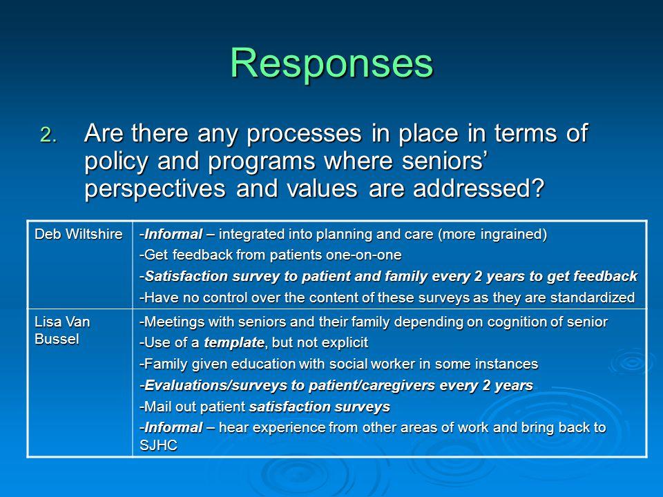 Responses 2.