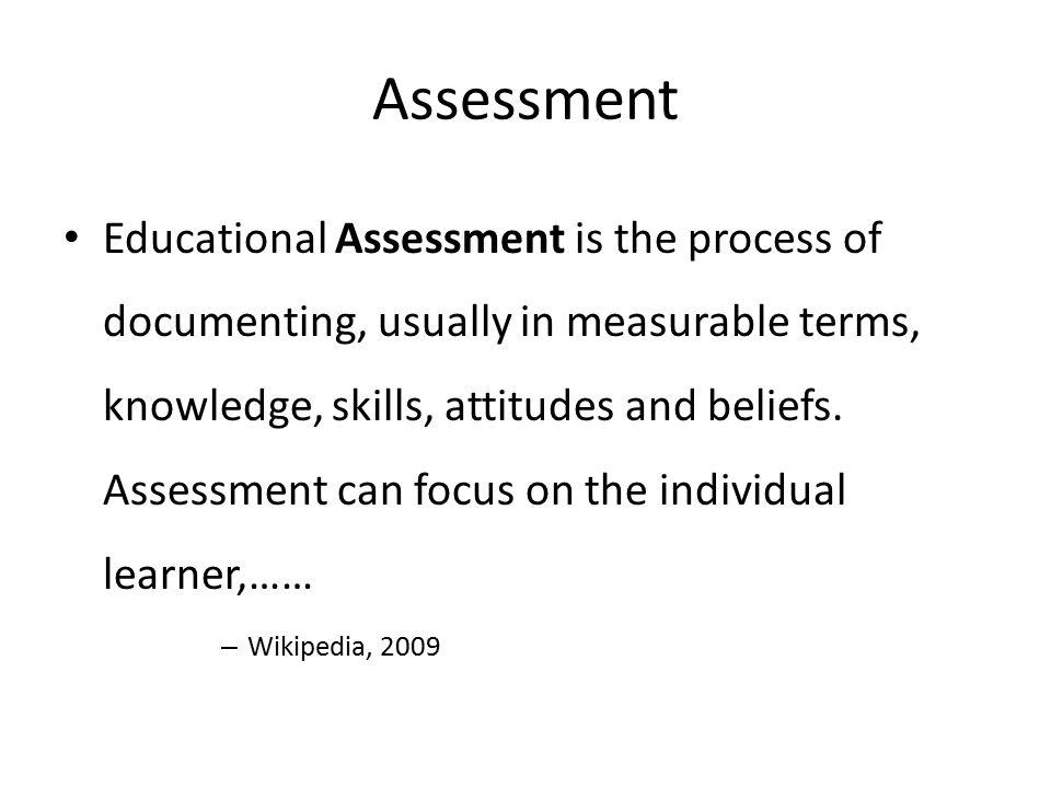 Continuous process Knowledge SkillsAttitudes