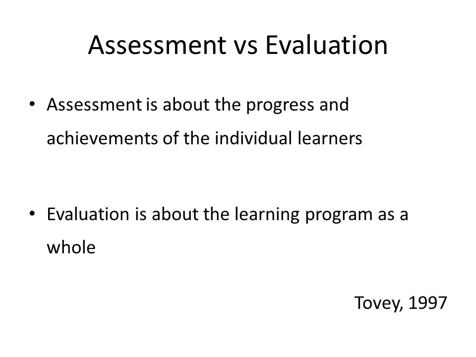 Improving reliability and validity Base assessment on outcome/objectives- event triggers- observable behavior- behavioral rating-assess Define: – Low-medium-high performance – Use of rubric or rating metric – Use (video) training examples of performance – Employ quality assurance/improvement system