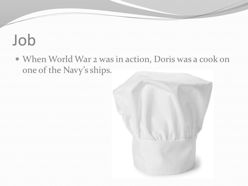 Birth Doris Miller was born on October 12, 1919.