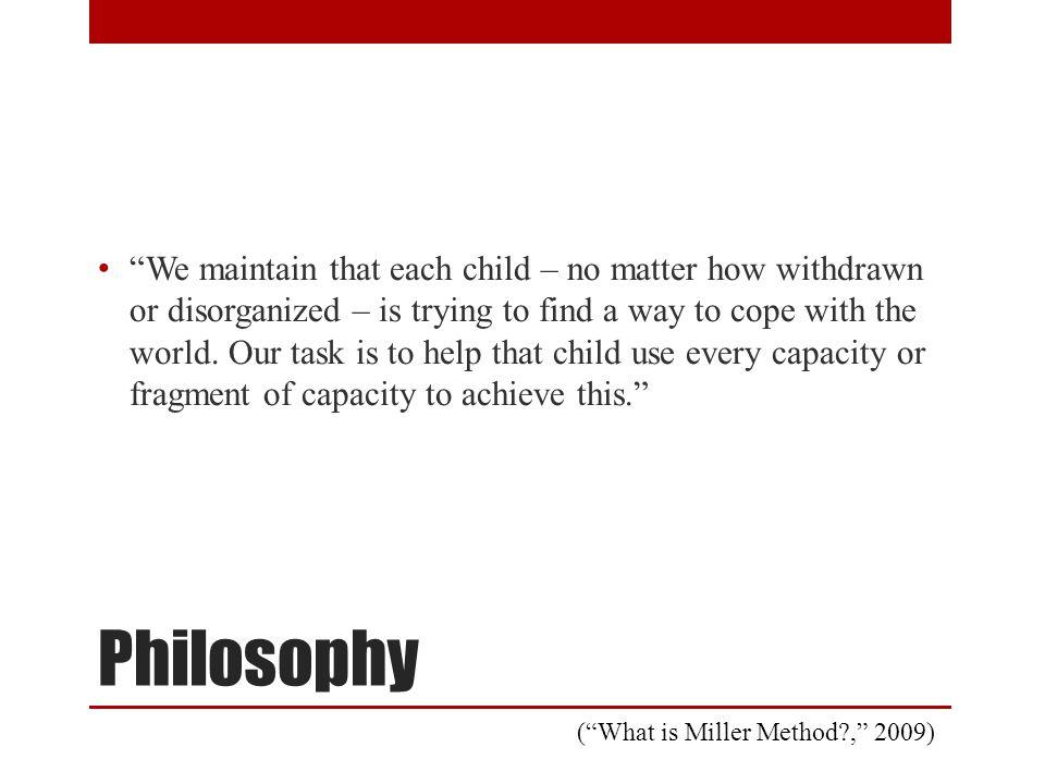 Founder of the Miller Method Dr. Arnold Miller 3/11/1927 - 8/27/2011