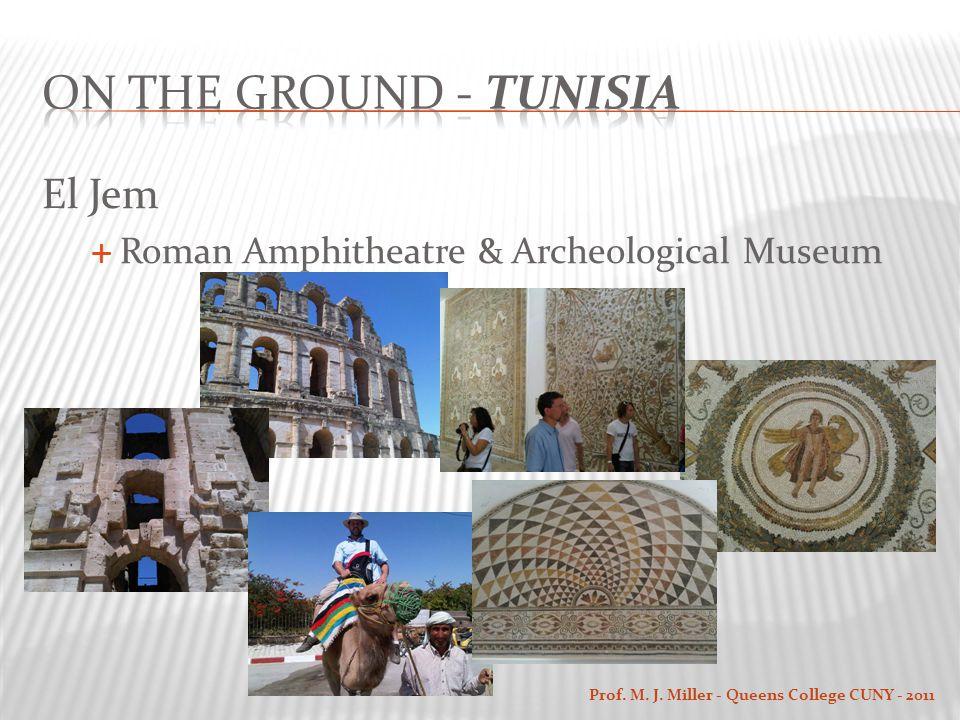 El Jem  Roman Amphitheatre & Archeological Museum Prof. M. J. Miller - Queens College CUNY - 2011