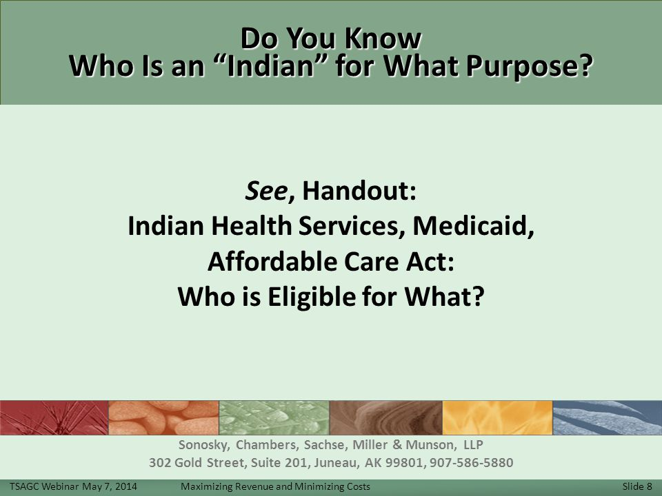 Do You Know Who Is an Indian for What Purpose.