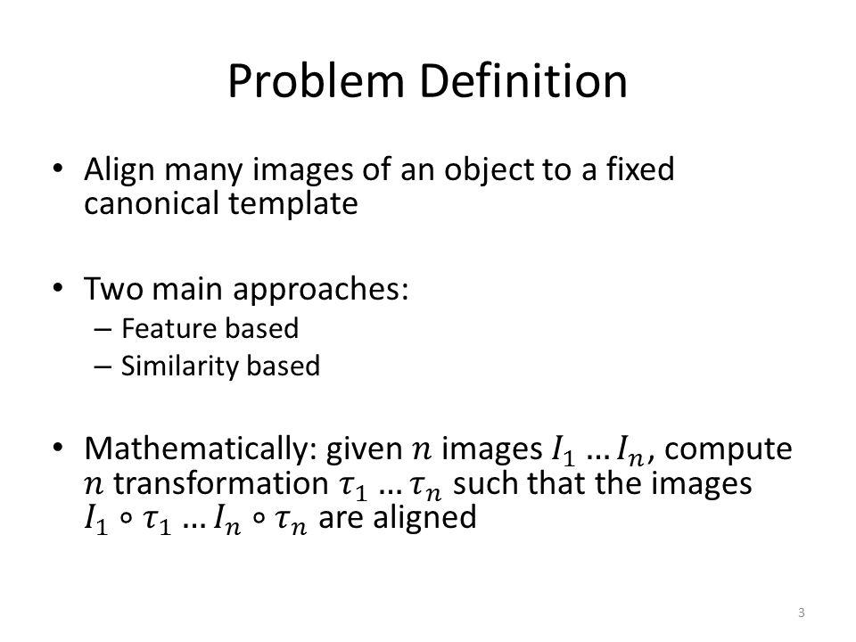 Problem Definition 3
