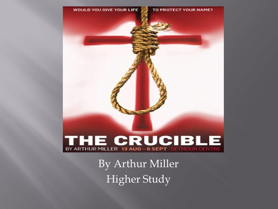  Arthur Miller  McCarthyism  Salem  Puritanism