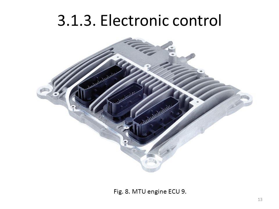 3.1.3. Electronic control Fig. 8. MTU engine ECU 9. 13