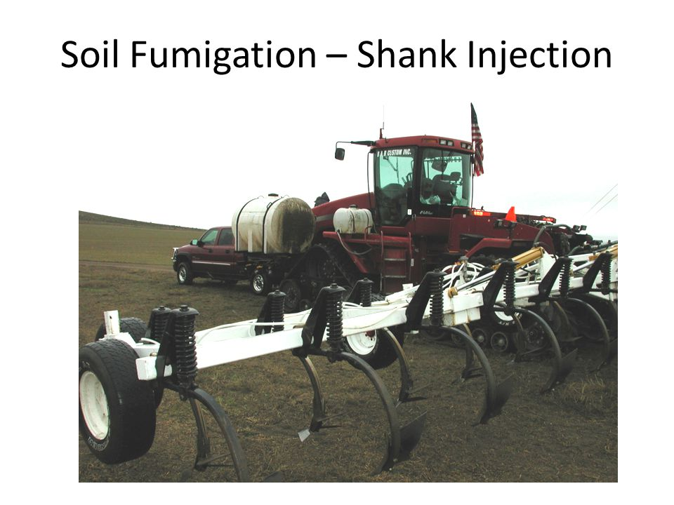 Soil Fumigation – Shank Injection