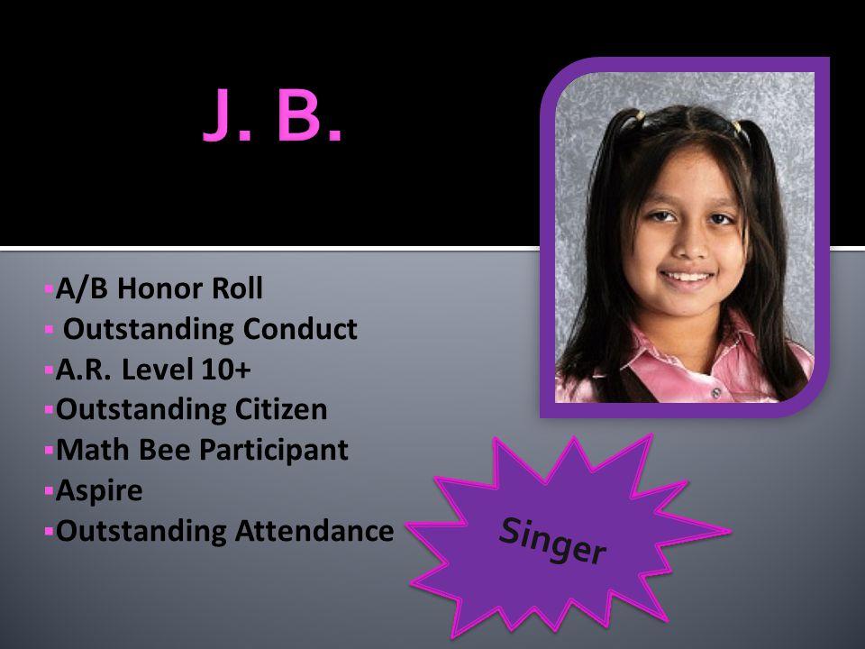 Perfect Attendance A.R. Level 10+ Teacher