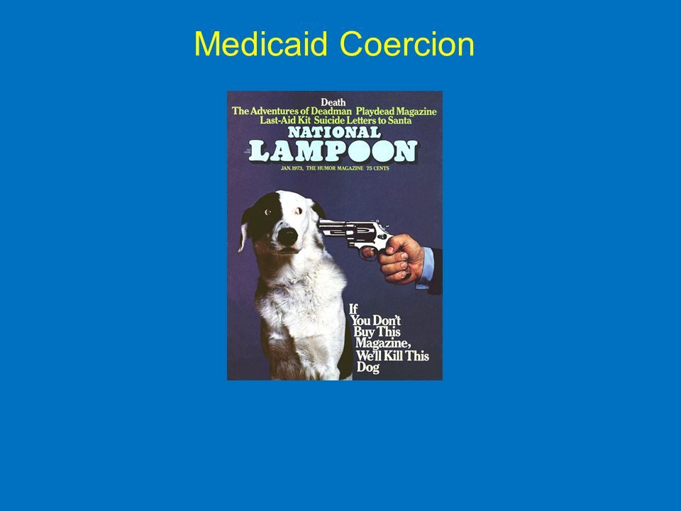 Medicaid Coercion
