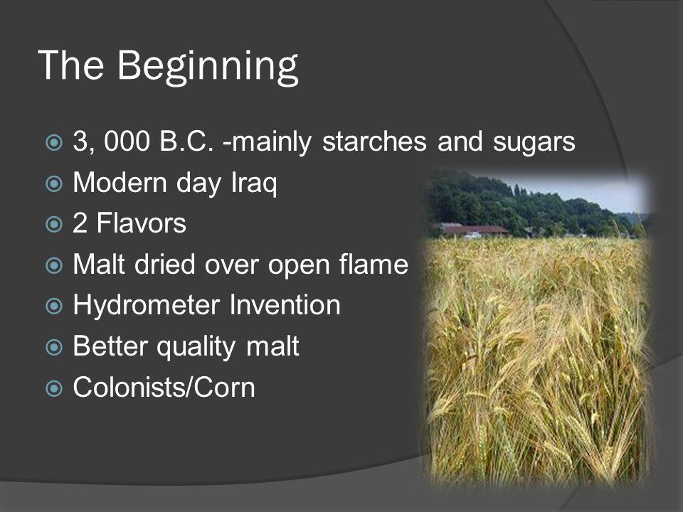 The Beginning  3, 000 B.C.