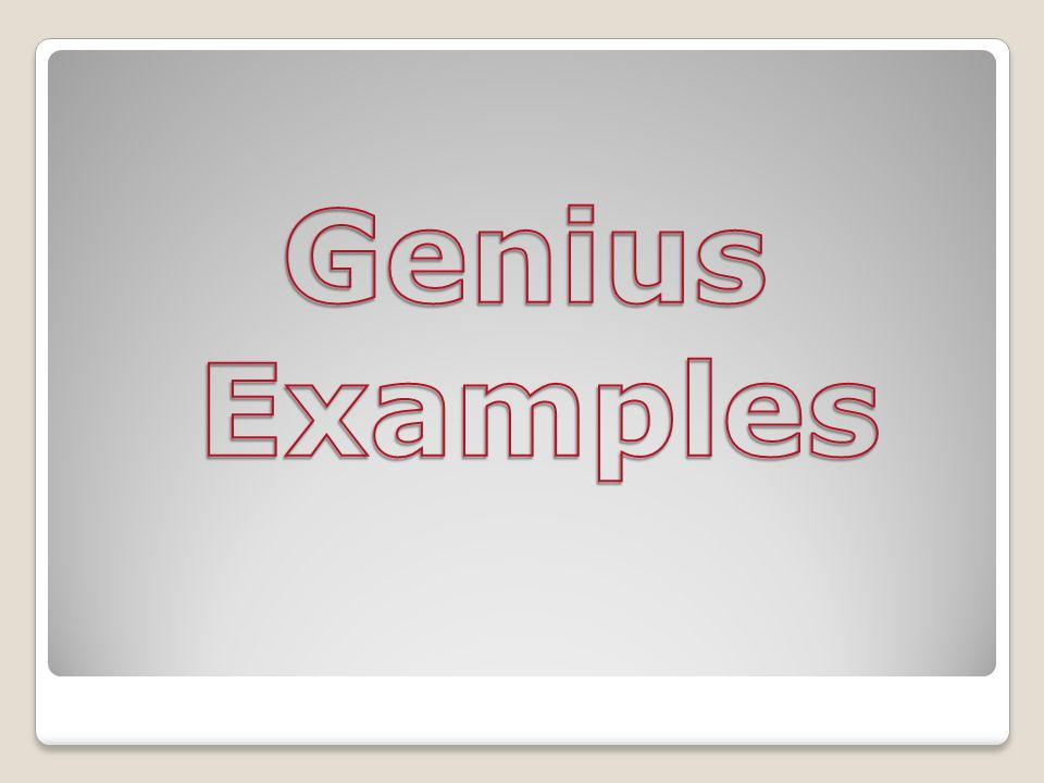 Albert Einstein Reason for Classification Much larger corpus callosum then the average man.