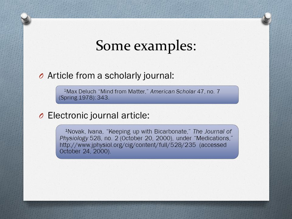 Basic bibliography formatting: O Place a page titled Bibliography at the end of the paper.