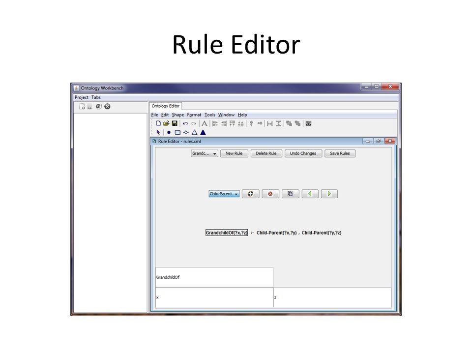 Rule Editor