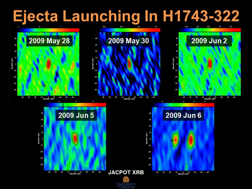20 2009 May 302009 May 282009 Jun 2 2009 Jun 52009 Jun 6 Ejecta Launching In H1743-322 JACPOT XRB