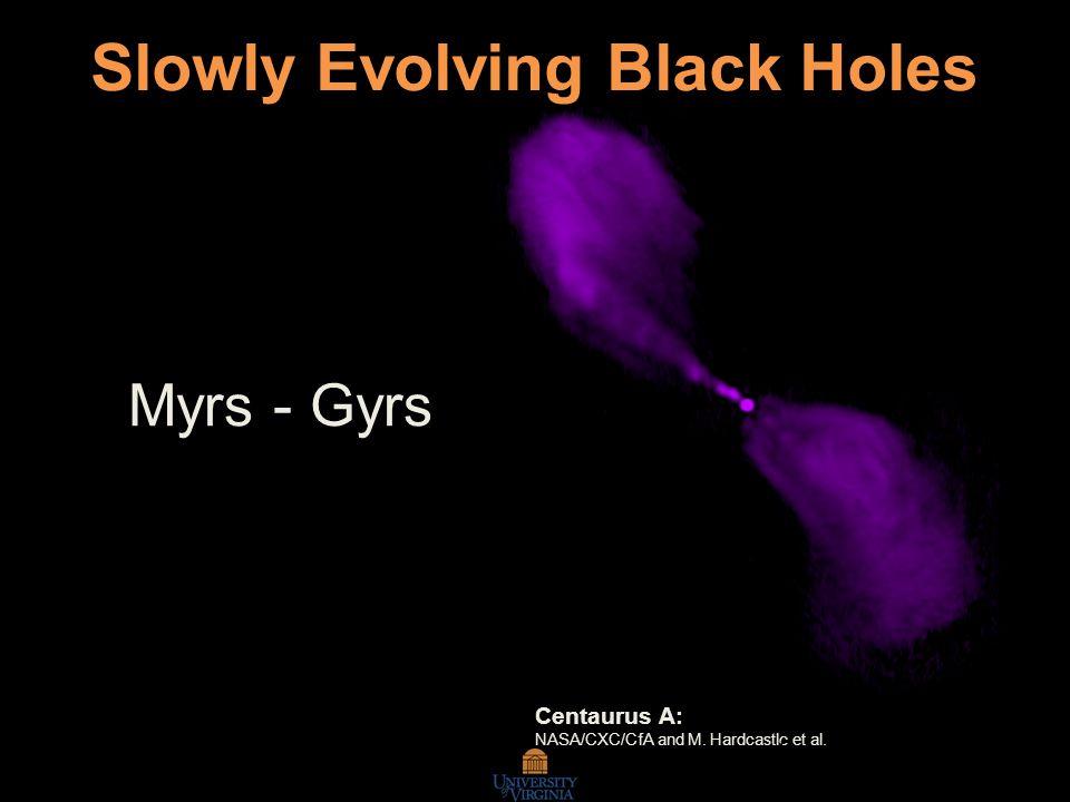 Rapidly Evolving Black Holes X-Ray Nova GRO J1655-40 NRAO/AUI/NSF and R.