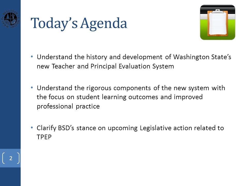 Historical Description TPEP originated during the 2010 legislative session.