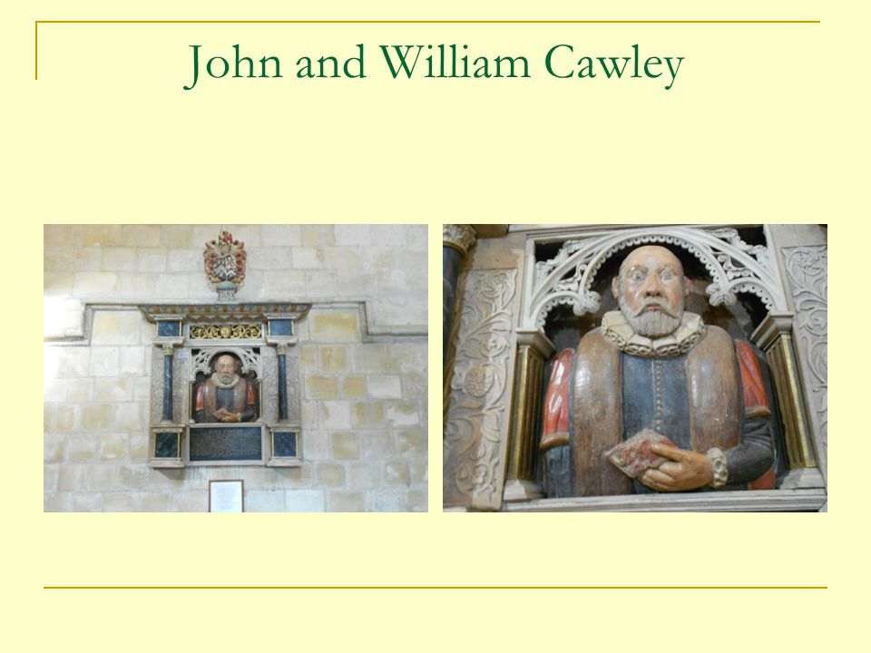 John and William Cawley