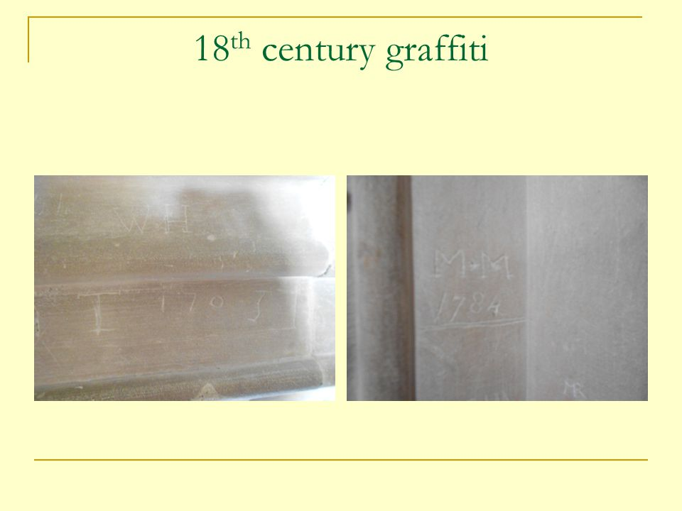 18 th century graffiti
