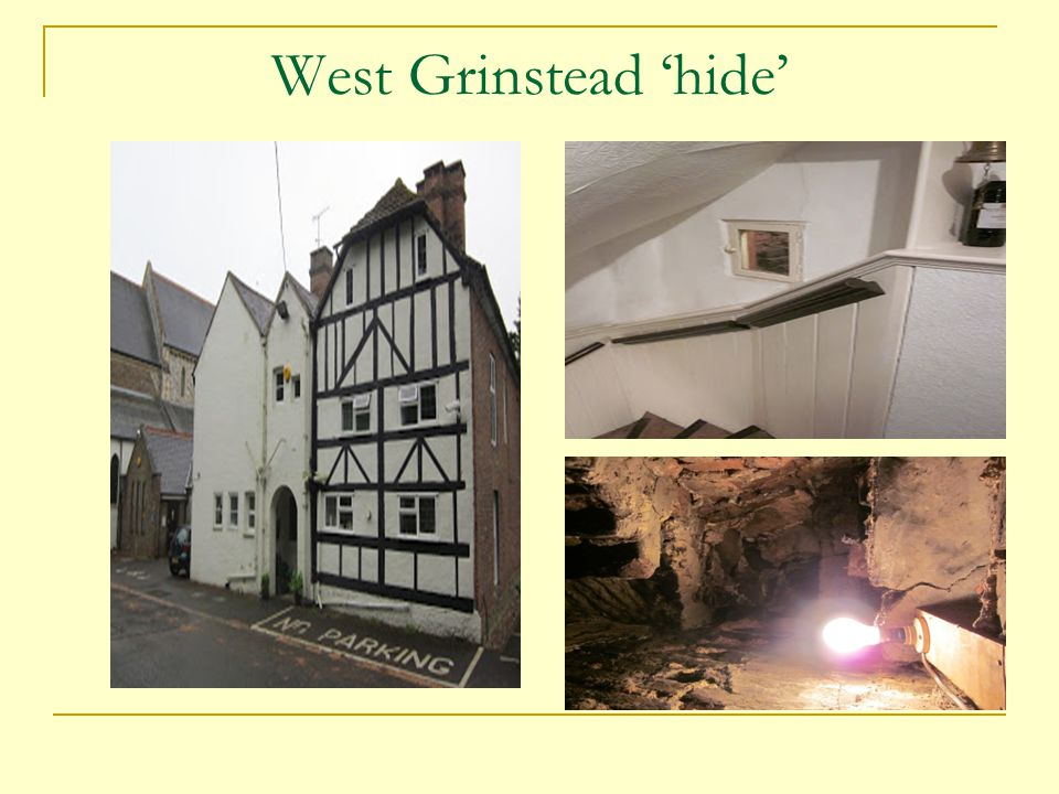 West Grinstead 'hide'