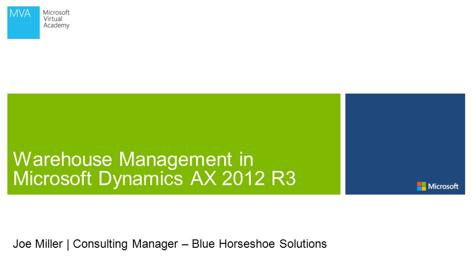 Joe Miller | Consulting Manager – Blue Horseshoe Solutions