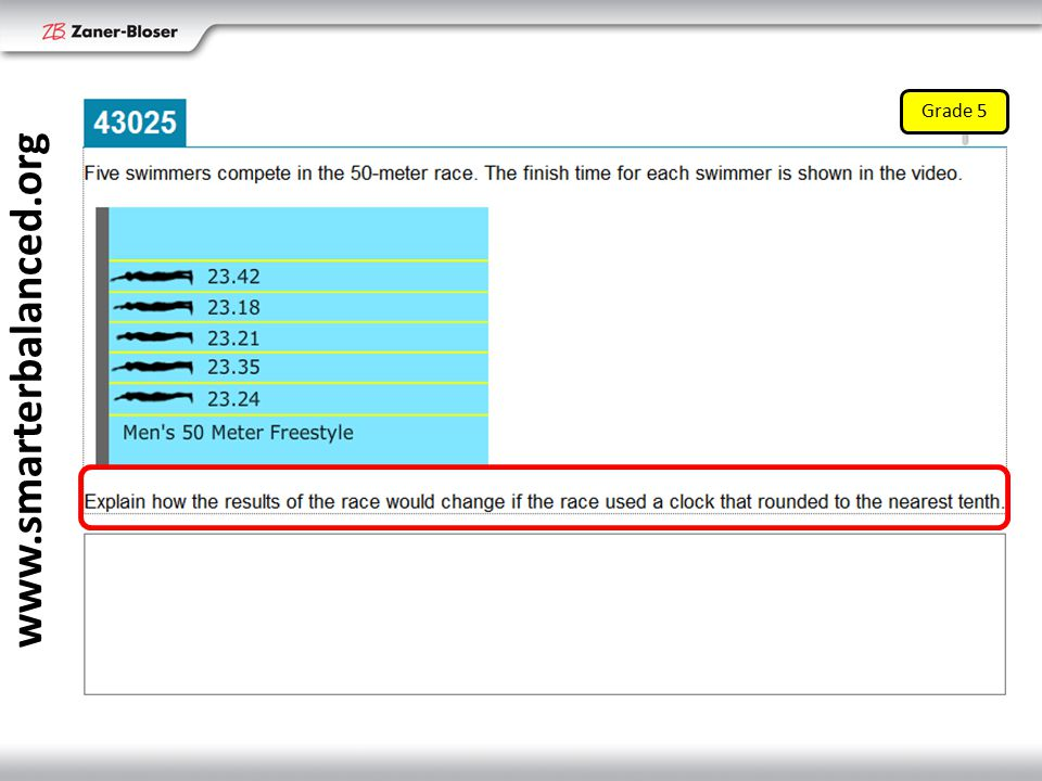 Grade 5 www.smarterbalanced.org