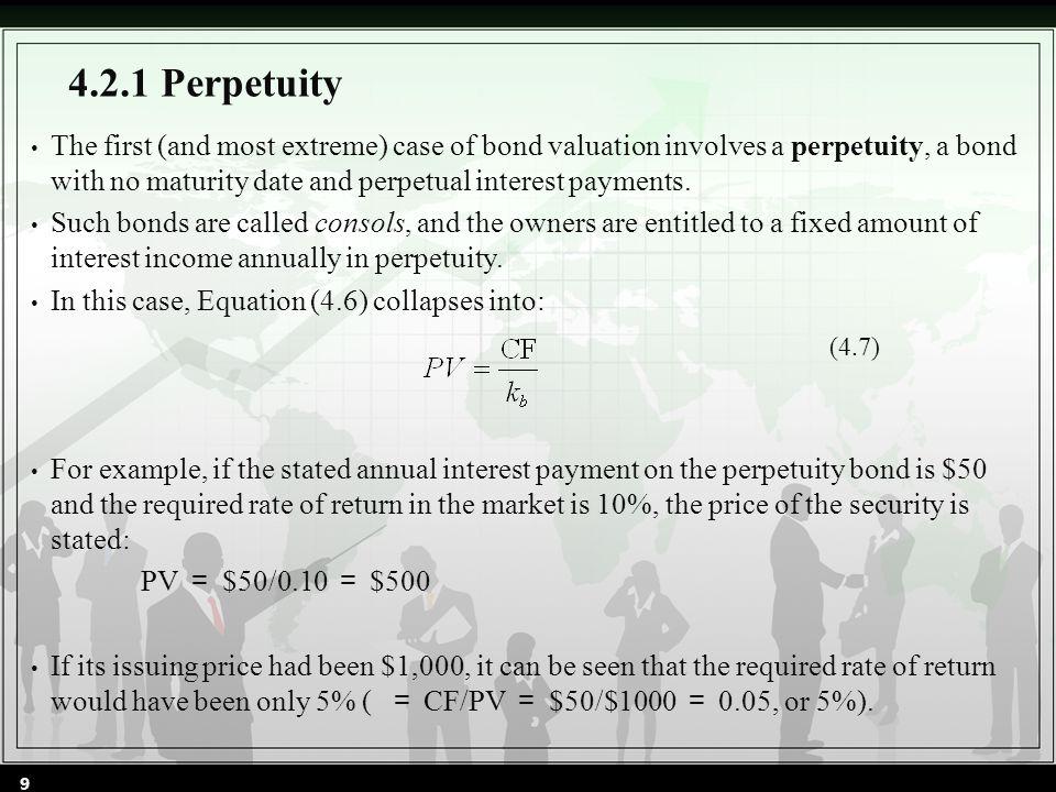 4.2.2 Term Bonds (4.8) 10