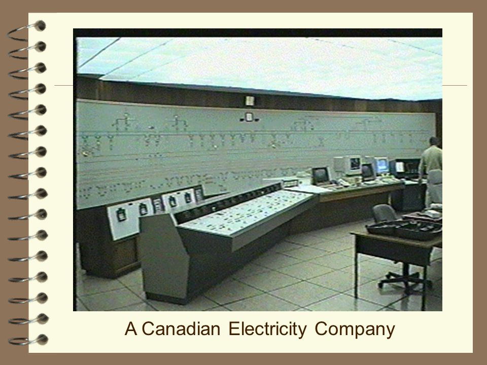 A Canadian Electricity Company