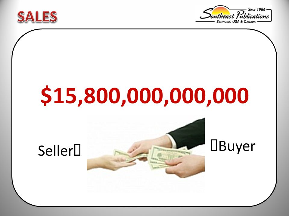 $15,800,000,000,000  Buyer Seller 
