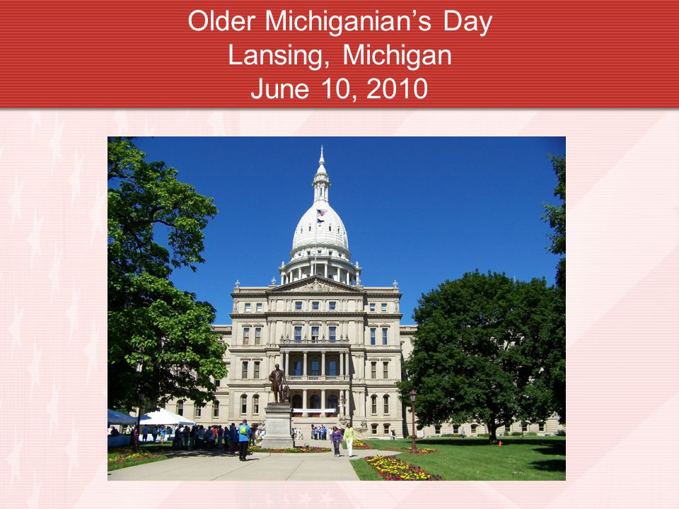 Older Michiganian's Day Lansing, Michigan June 10, 2010
