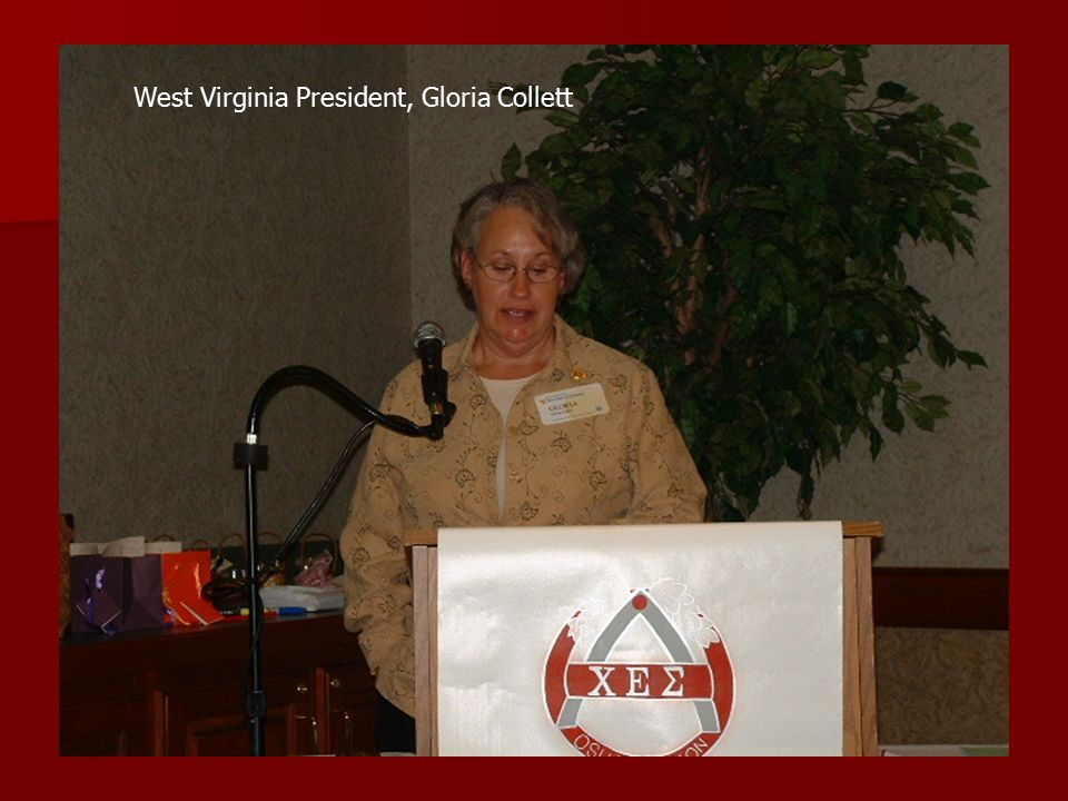 West Virginia President, Gloria Collett