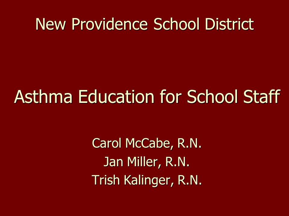 N.J.S.A.18A:40-12.9 mandates annual asthma education for teaching staff.