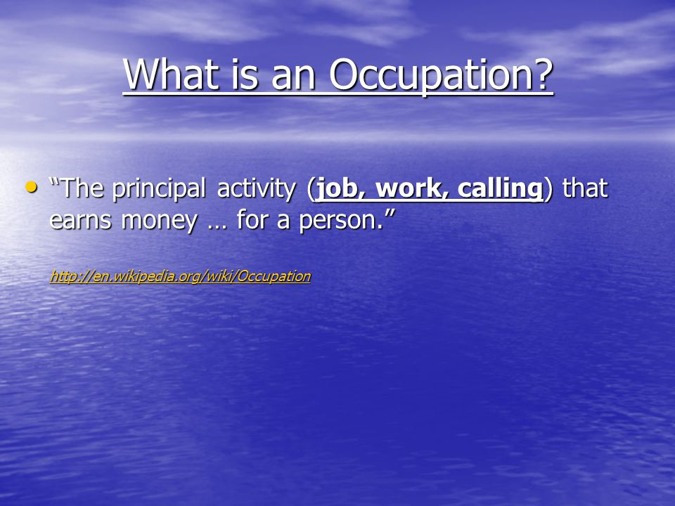 What is a Profession.