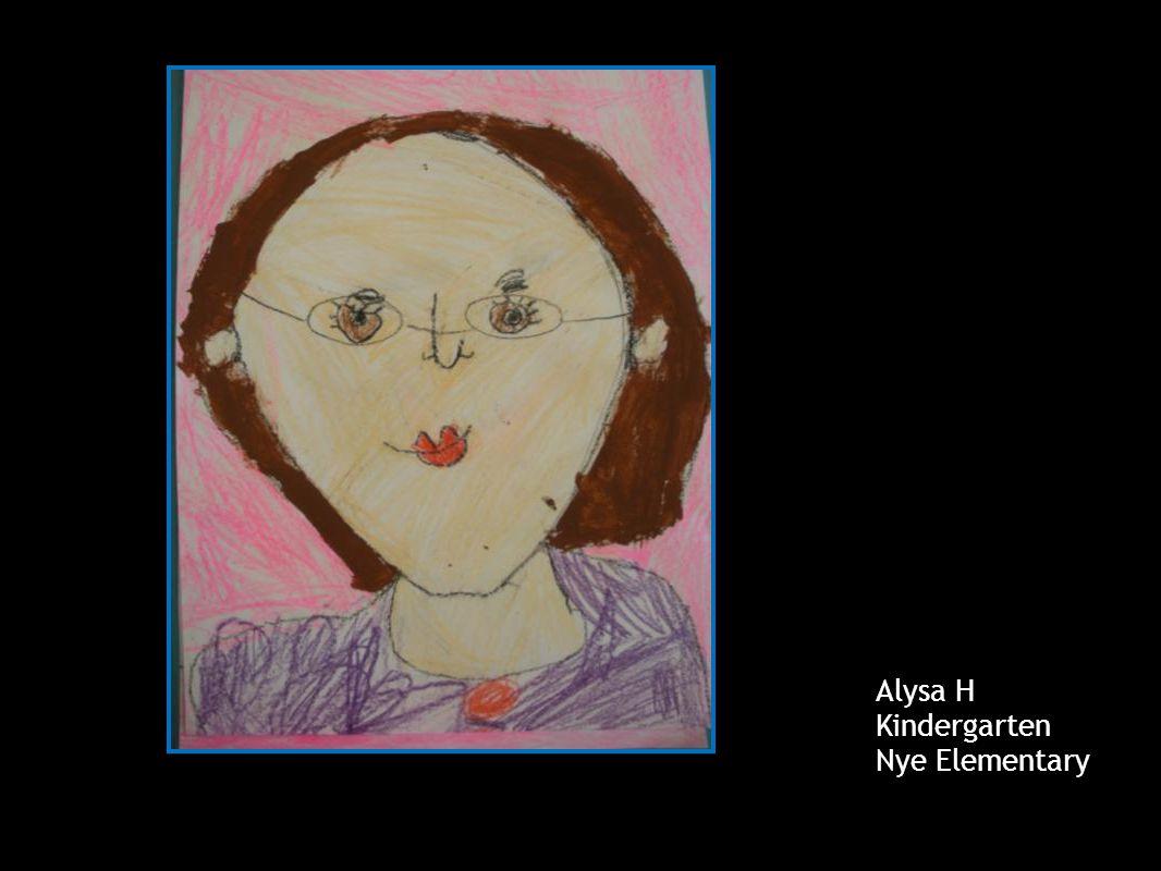 Paige A Kindergarten Mrs. Devey's AM Class Londonderry Elementary