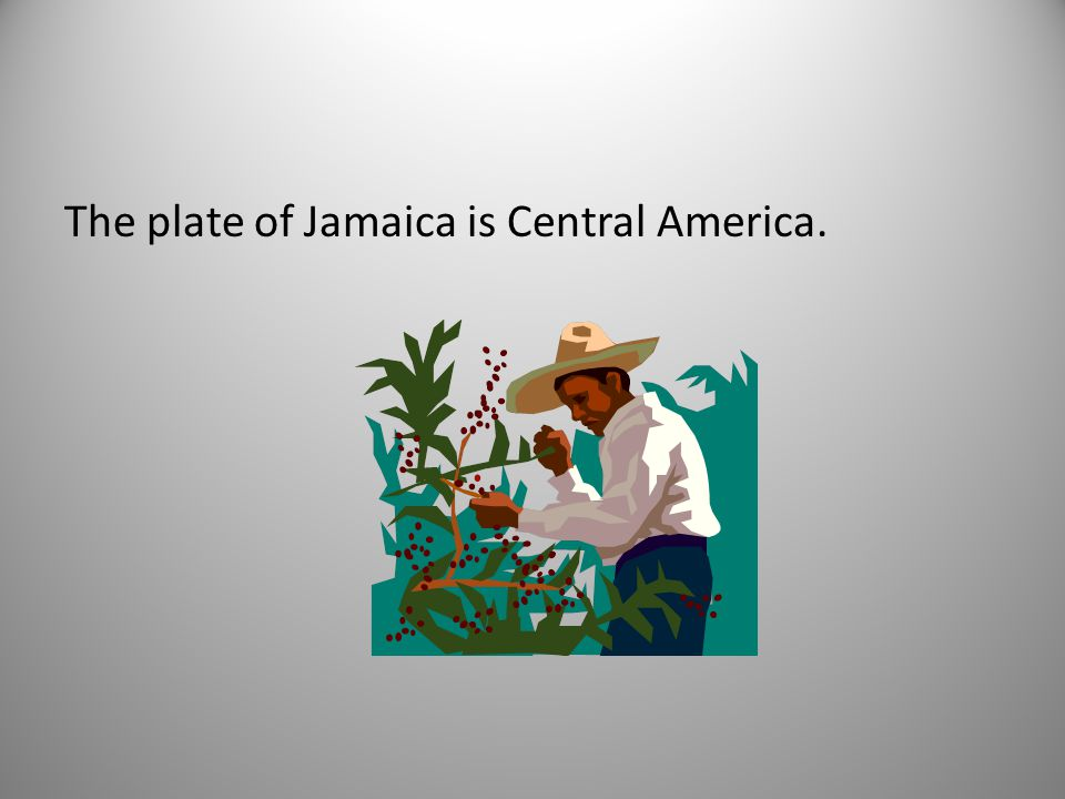 The plate of Jamaica is Central America.