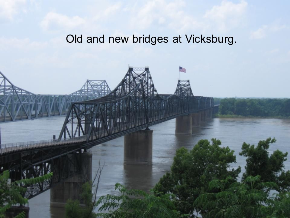 The Bridge to Vicksburg,MS.
