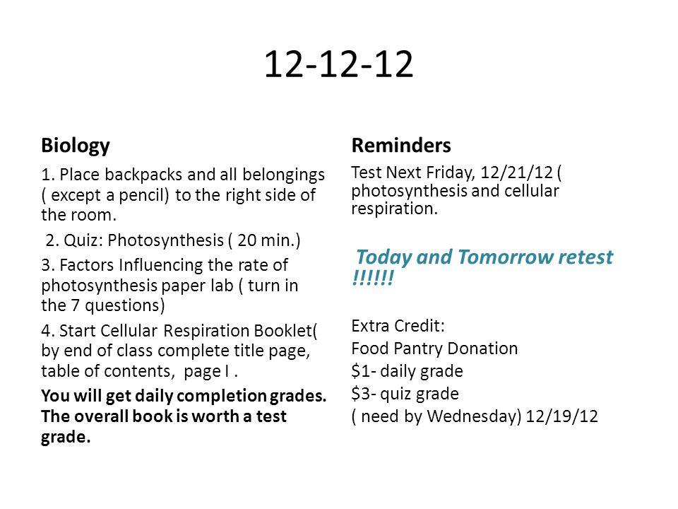 12-12-12 Biology 1.