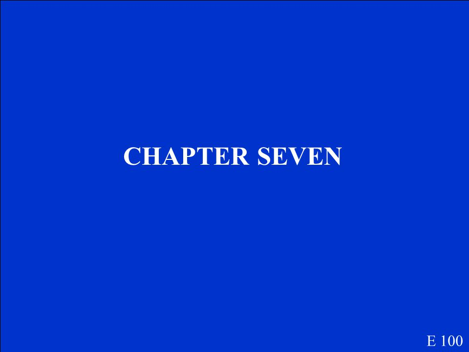 This chapter is where Jonas was skipped during the Assignments. E 100