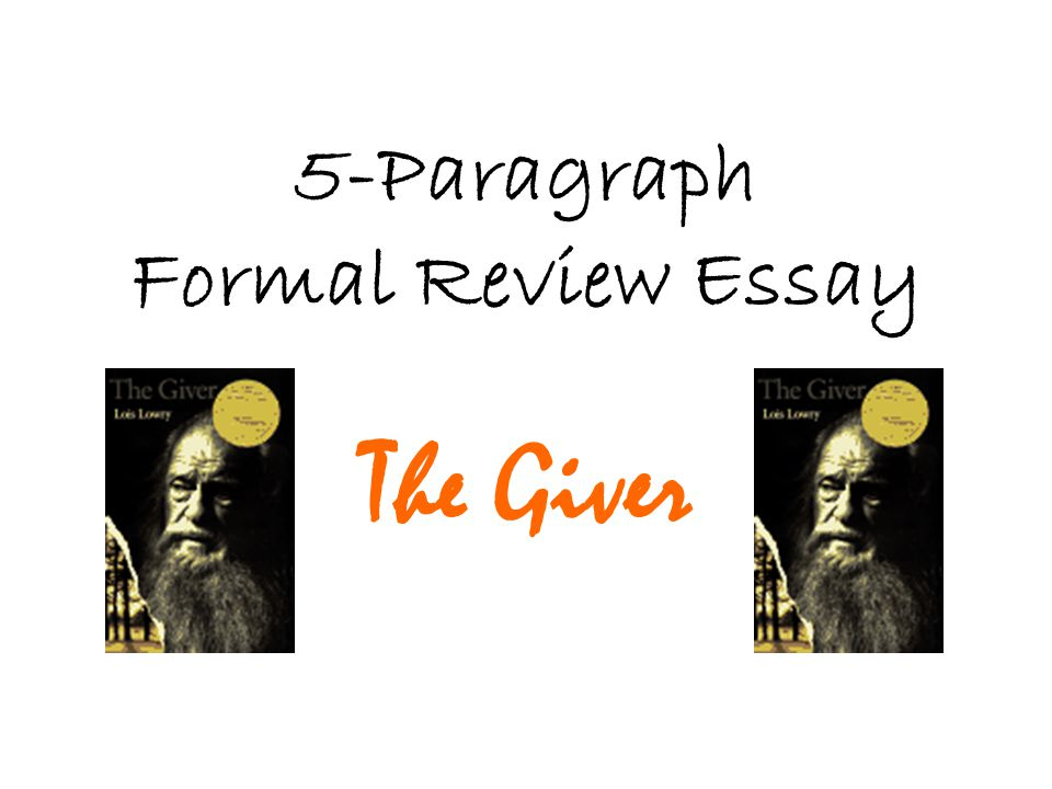 the giver essay thesis statement