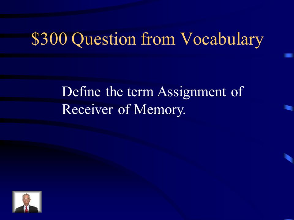 $200 Answer from Vocabulary Release
